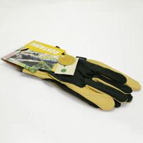 Gardening Gloves - Gents Essential Premium Cotton / Leather Size 10