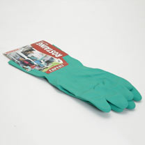 Gardening Gloves - Expert Cotton Lined Chemical Gloves Size 10