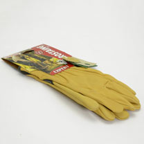 Gardening Gloves - Premium Washable Leather Gloves - Size 9
