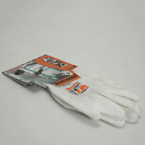 Gardening Gloves - White Pro Size 8