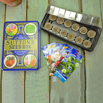Seed Tin, Propagator and Flower Seed Offer