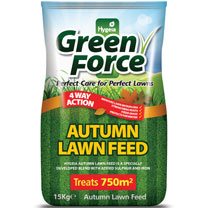 Greenforce Autumn Lawn Feed - 15kg