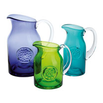 Flower Jug Daisy - Teal Slim