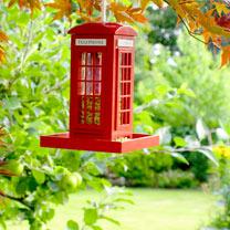 Seed Feeder - Telephone Box