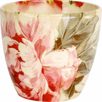 Floral Planter - Peony