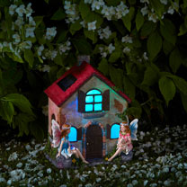 Solar Fairy House - Fairies Only!