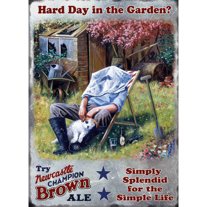 Head gardener metal sign gifts for him gift ideas for Gardening gifts for him