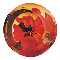 Paperweight - Poppy