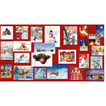 PDSA 'One of Each' Christmas Cards
