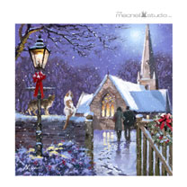 Midnight Mass Christmas Cards
