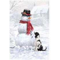 Snowy Christmas Christmas Cards