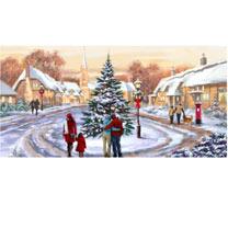 Village Christmas - Christmas Cards