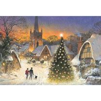 Christmas Walk Christmas Cards