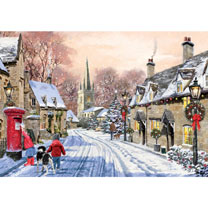 Village Christmas - Christmas Cards