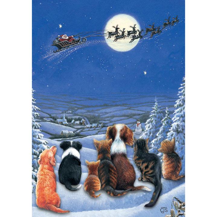 Waiting for Santa - Christmas Cards
