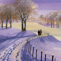 Winter Walk - Christmas Cards