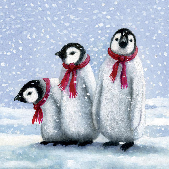 Penguin Pals - Christmas Cards