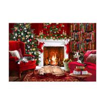 Fireside Glow Cards