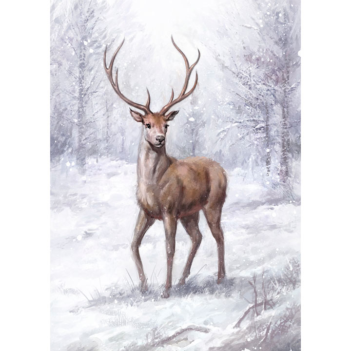 Christmas Stag Cards