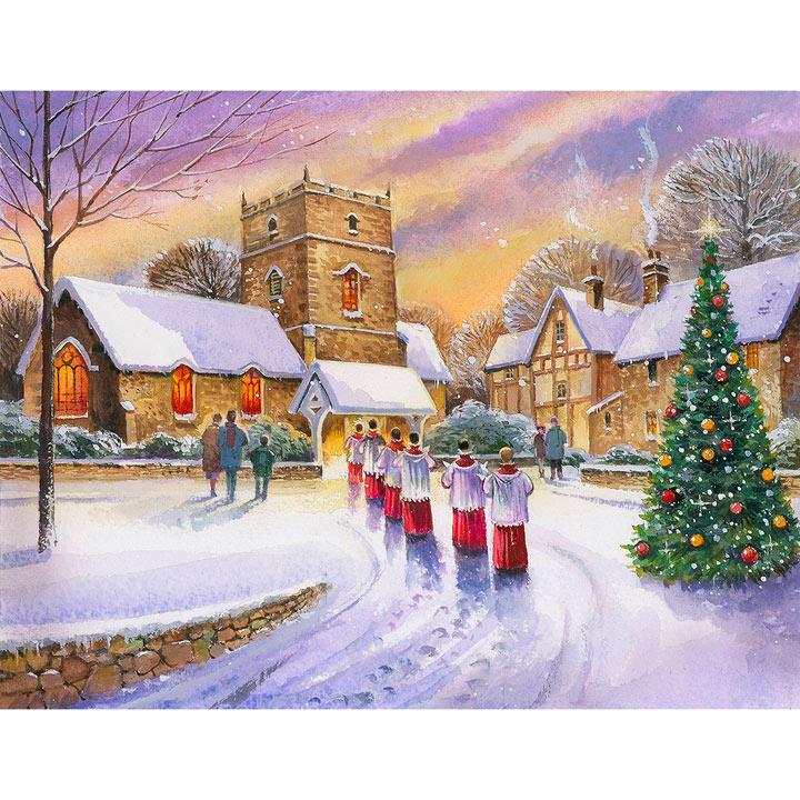 Christmas Carols Cards