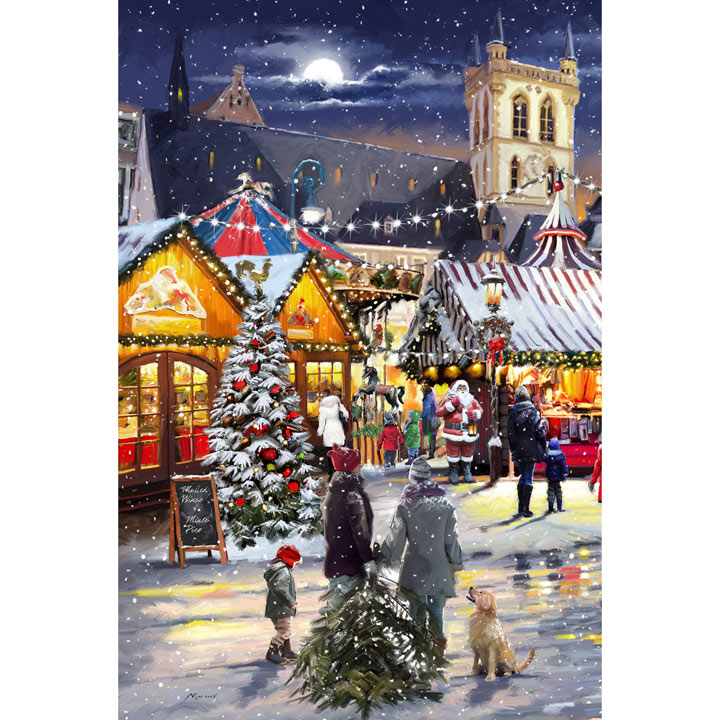 Christmas Market Cards