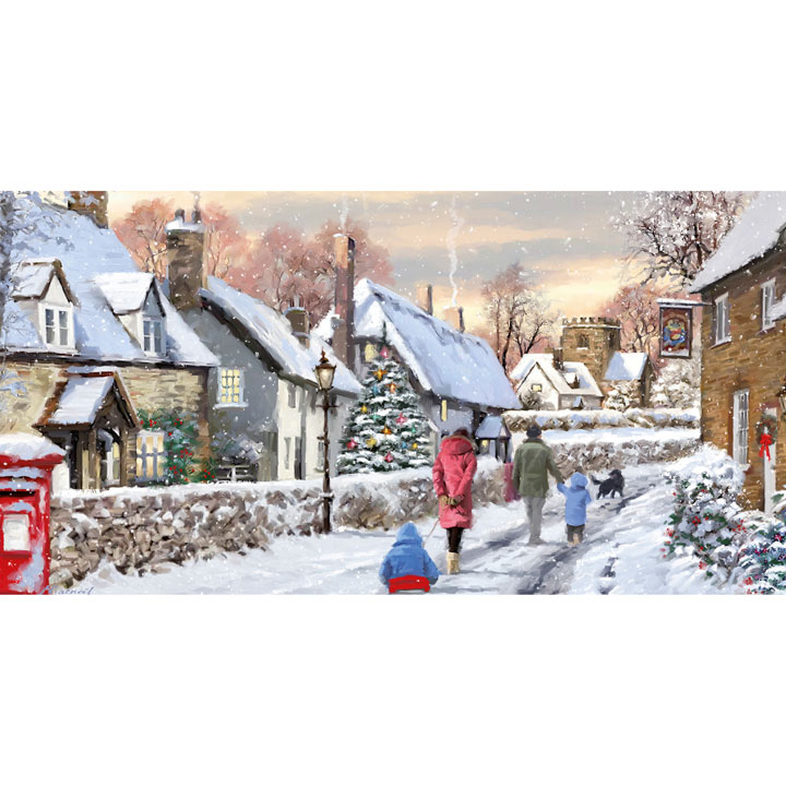 Snowy Lane Cards