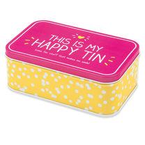 Happy Tin with Cookies
