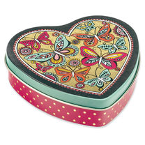 Heart Tin with Fruit Drops