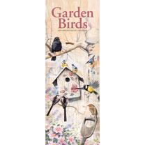 Slimline 2018 Calendar - Garden Birds