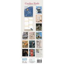 Slimline 2019 Calendar - Garden Birds