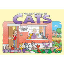 Calendar - The Wacky World of Cats
