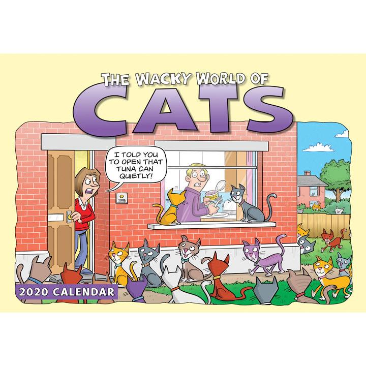 Calendar - The Wacky World of Cats