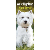Slimline Calendar - West Highland White Terrier