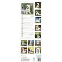 Slimline Calendar - West Highland White Terrier