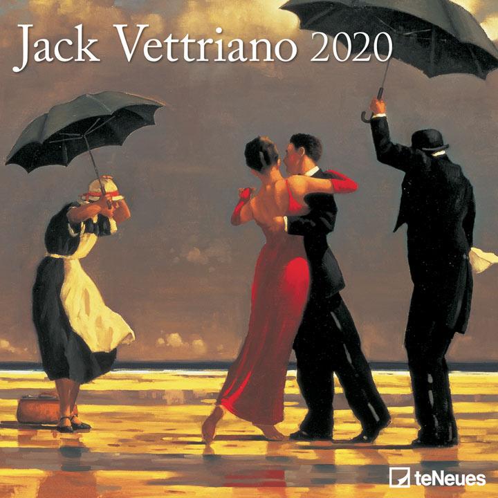Wall Calendar - Jack Vettriano