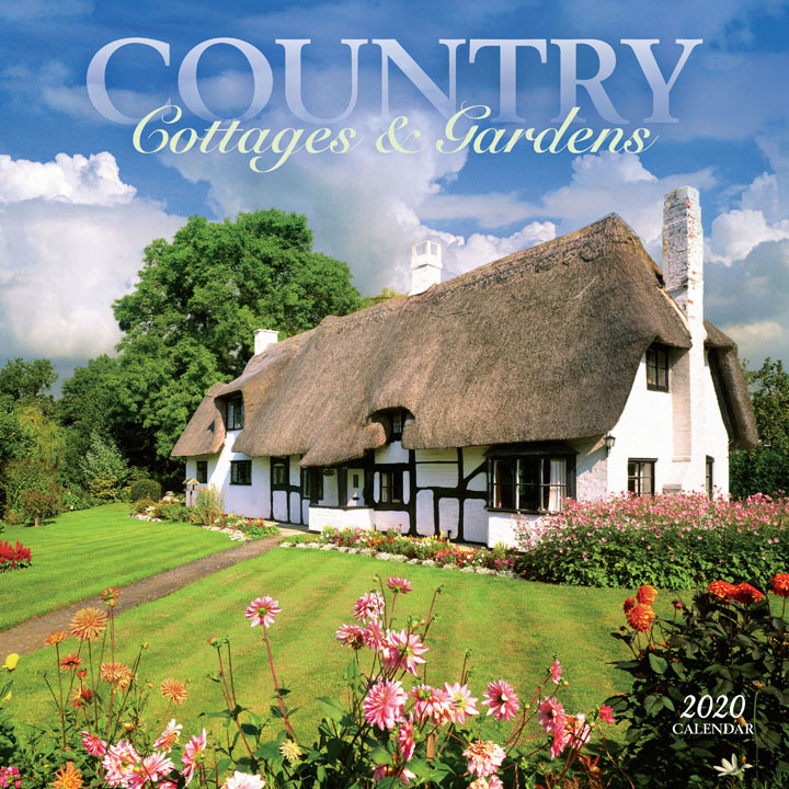 Wall Calendar - Country Cottages & Gardens