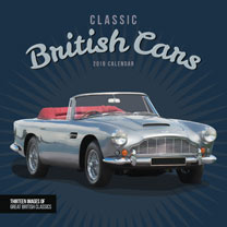 Wall Calendar - Classic British Cars
