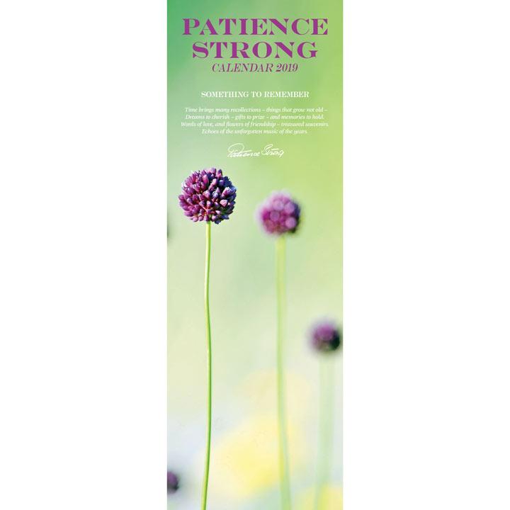 Slimline 2018 Calendar - Patience Strong