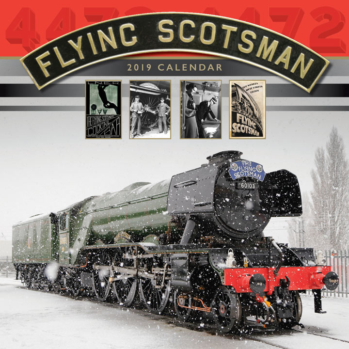Wall Calendar - Flying Scotsman