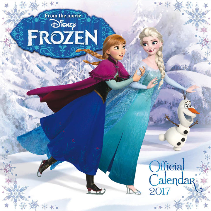 Wall Calendar - Frozen