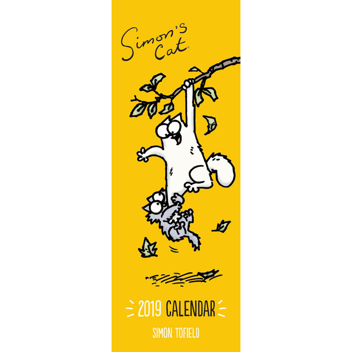 Slimline 2019 Calendar - Simon's Cat