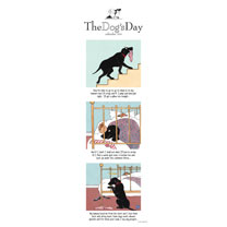 Slimline Calendar - The Dog's Day