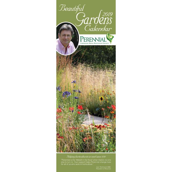 Slimline 2018 Calendar - Beautiful Gardens