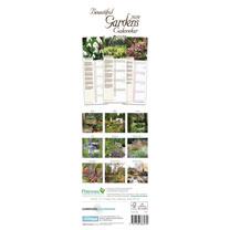 Slimline 2019 Calendar - Beautiful Gardens