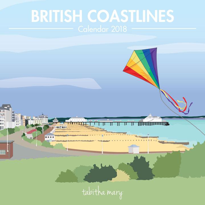 Wall Calendar - British Coastlines