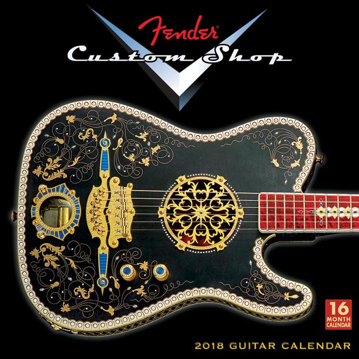 Wall Calendar - Fender