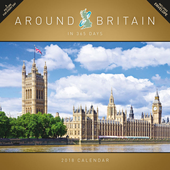 Wall Calendar - Around Britain