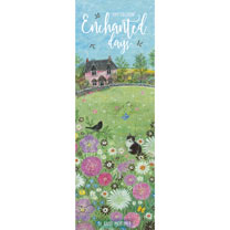 Slimline 2019 Calendar - Enchanted Days