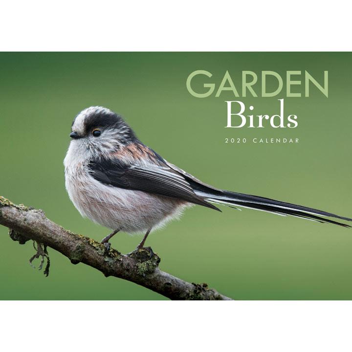A4 Calendar - Garden Birds