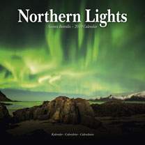 Wall Calendar - Northern Lights